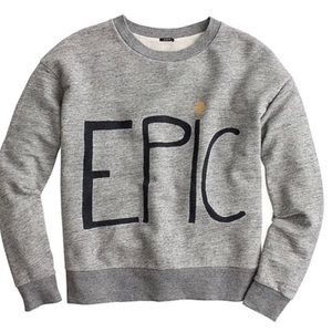 J.Crew Epic Crew Neck Sweatshirt by Hugo Guinness